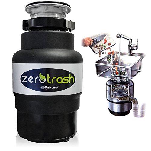 """Küchenabfallentsorger \""""ForHome® ZeroTrash 400\""""  mit Luftschalter - Müllschlucker/zerkleinerer Macht 1/2hp"""