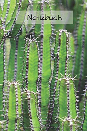 Tagebuch Kaktus: Notizbuch / Tagebuch mit Punkten - Kaktus Bild als Motiv | 120 Seiten a5