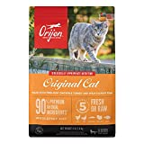 ORIJEN Original Recipe, 4lb, Premium High-Protein Grain-Free Dry Cat & Kitten Food, Packaging May Vary