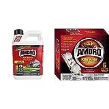 Amdro Ant Block Granule, 24 Ounce & Liquid Ant Bait Stations, 6 Pack