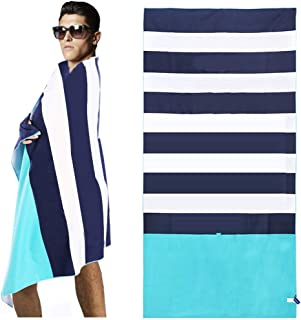 HAPEE Microfiber Beach Towels Overlarge XL 67x35in for Sports, Travel,Swim,Pool- Quick Dry Super Absorbent Lightweight