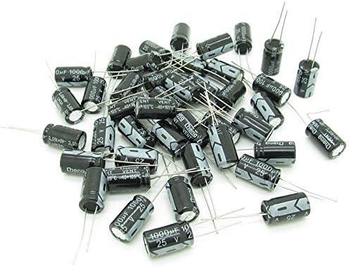 3X 10 x 10uF 50V 105C Radial Electrolytic Capacitor 5x11mm Q9C9