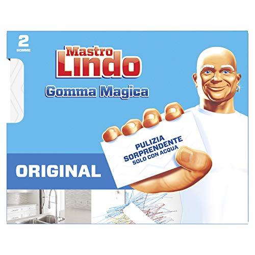 Mastro Lindo Magic Rubber, Confezione da 2 Pezzi