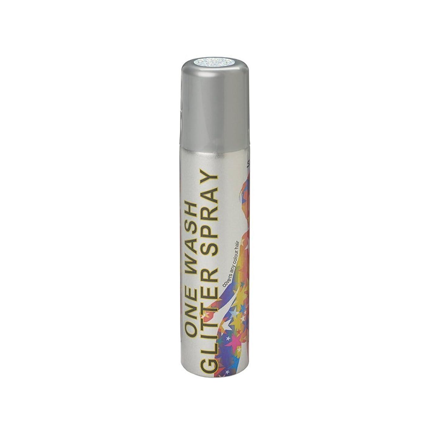 製品提供されたやむを得ないスターゲイザー ワンウォッシュ グリッタースプレー 75ml グリッターホワイト