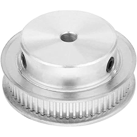 3DINNOVATIONS Aluminum GT2 Timing Belt Pulley 60 Teeth 5mm Bore for 6mm Width 2GT Timing Belt (Pack of 1pc; 5mm Bore)