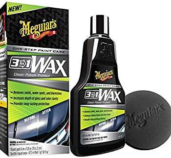 Meguiar's 16 Ounce 3-in-1 Wax Kit