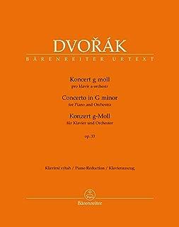 Dvořák: Piano Concerto in G Minor, Op. 33, B 63
