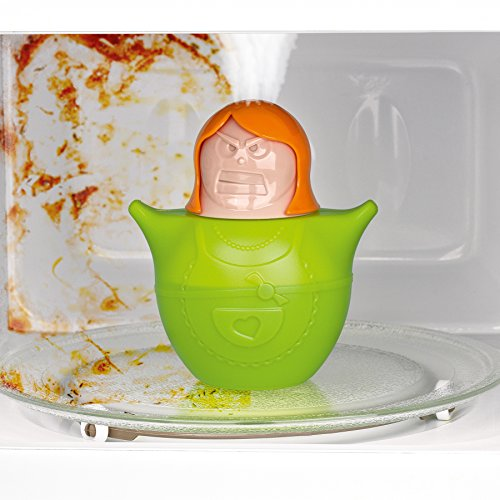 Cleanmaxx Microondas limpiador limpia Susi 03660, genialer Utensilios de cocina