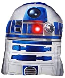 Daum - Pimp Up Your Life 15849–Disney Star Wars Forma Cojín R2D2, Peluche, 19cm