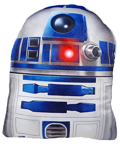 Daum - Pimp Up Your Life 15849 - Disney Star Wars Formkissen R2D2, Plüsch, 19 cm