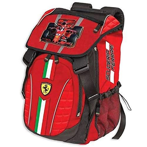 Zaino Scuola Scuderia Ferrari Estensibile 41x29x13 cm Prodotto Ufficiale