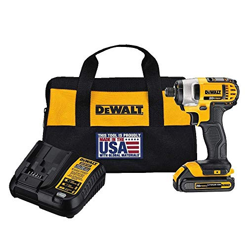 Product Image of the DEWALT 20V MAX Impact Driver Kit, 1/4-Inch (DCF885C1)