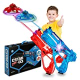 shoot&fly Gun Game Blaster as a Remote Control Drone, Toy Guns with an Quadcopters, Top Toys 2020, Shooting Game for Boys and Girls, Flying Toys Saucer Target, Teen Games, Christmas Toys 2020 (Set2)