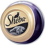 Sheba Feine Filets, Getreidefreies Nassfutter für Katzen als besonderer Snack, Köstliche Filets in eigenem Saft