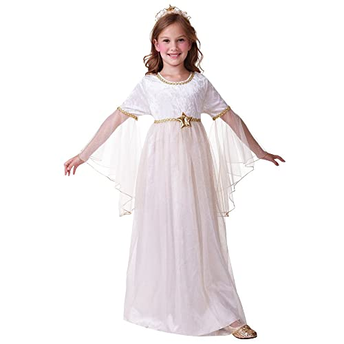7eb9225301ef Bristol Novelty CC446 Long Sleeves Angel Costume, Medium, 122-134 cm, Approx