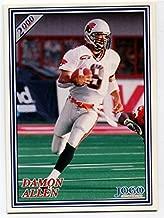 JOGO INC. 2000 Jogo Damon Allen Card #145 BC Lions California State University