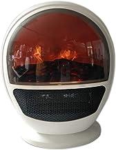 MSHK Calefactor Eléctrico, Calefactor Portátil De 800W / 1500W con Protección contra Sobrecalentamiento E Inclinación, Calor Rápido, 2 Configuraciones De Temperatura