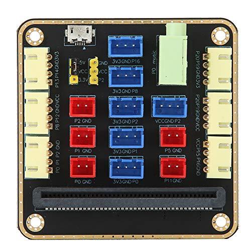 Homeriy Desarrollo Placa de Expansión Placa Base de Micro Bits Compacta Transferencia...