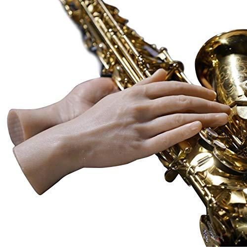 N \ A Nail Art Soft Practice Hands Herramientas De Manicura De Manos Protésicas De Silicona Flexible - Los Dedos Se Pueden Doblar - Reutilizable, para Artistas Y Principiantes
