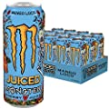 Monster Energy Mango Loco mit tropischen Fruchtsäften - mit Kohlensäure/Energy Drink Palette, 12er Pack (12 x 500 ml)