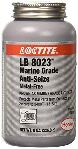 Loctite 299175 Paste Anti-Seize Lubricant, -20 to 2400 degrees F Temperature Range, 8 oz Can