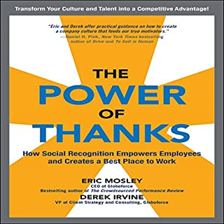 The Power of Thanks audiobook cover art