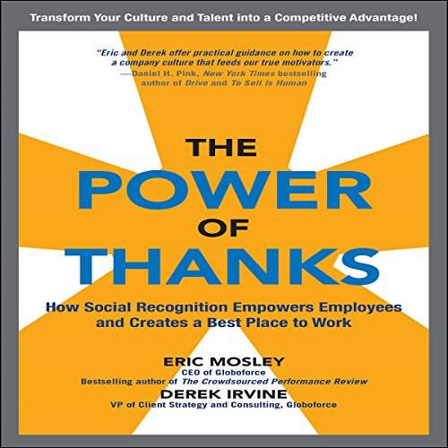 Couverture de The Power of Thanks