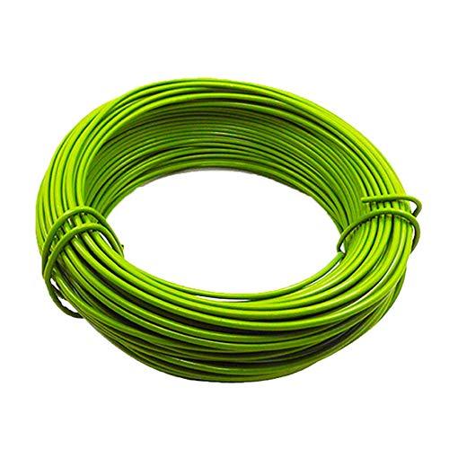 Eihan Garden - Cuerda para jardinería (10 m, revestimiento de plástico, para bricolaje)