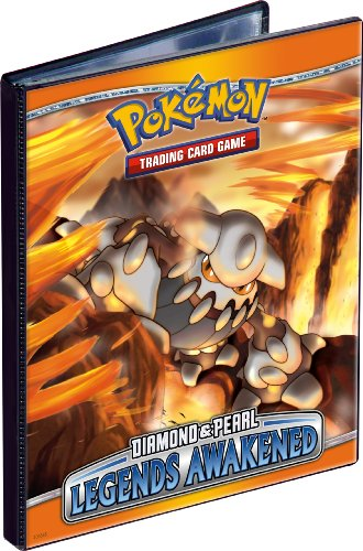 Pokemon Trading Card Album / Binder - Ultra PRO Pokemon DIAMOND & PEARL - Legends Awakened - 4 POCKET - Combo Album - PORTFOLIO image