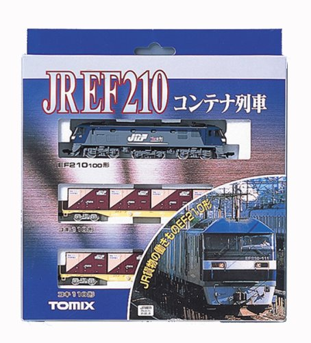 EF210 Container Train (3-Car Set) (Model Train)