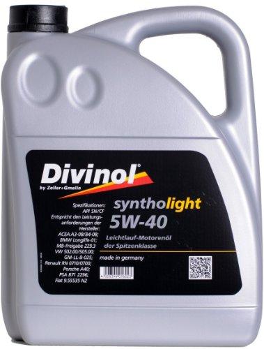 Divinol Syntholight 5W-40 Motoröl 1x5 Liter