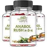 [page_title]-Anabol Rush X-3-X, Hardcore Testosteron Booster, 90 Kapseln Hochdosiert, Muskelaufbau Anabolika, Hochwertig, High Energy - Pre-Workout Nahrungsergänzungsmittel