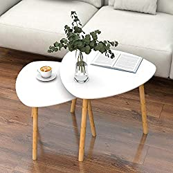 Bamboo End Table - for Living Room Side Table