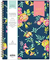 """Day Designer for Blue Sky 2021-2022 Academic Year Weekly & Monthly Planner, 8.5"""" x 11"""", Flexible Cover, Wirebound,..."""