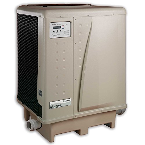 Pentair 460932 UltraTemp 110 High Performance Pool Heat Pump, Heat Only, 230 Volt, 60 Hertz, 1 Phase, Almond