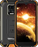 DOOGEE S59 Movil Resistente, 10050mAh Batería 4GB RAM+64GB ROM Smartphone, IP68 IP69K, Cámara Quad AI 16MP Telefono Antigolpes, Carga Rápida de 24W, Potente Altavoz 2W, Android 10, 4G, 5.71', NFC/GPS