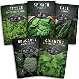 Survival Garden Seeds Cool Weather Collection Seed Vault - Non-GMO...