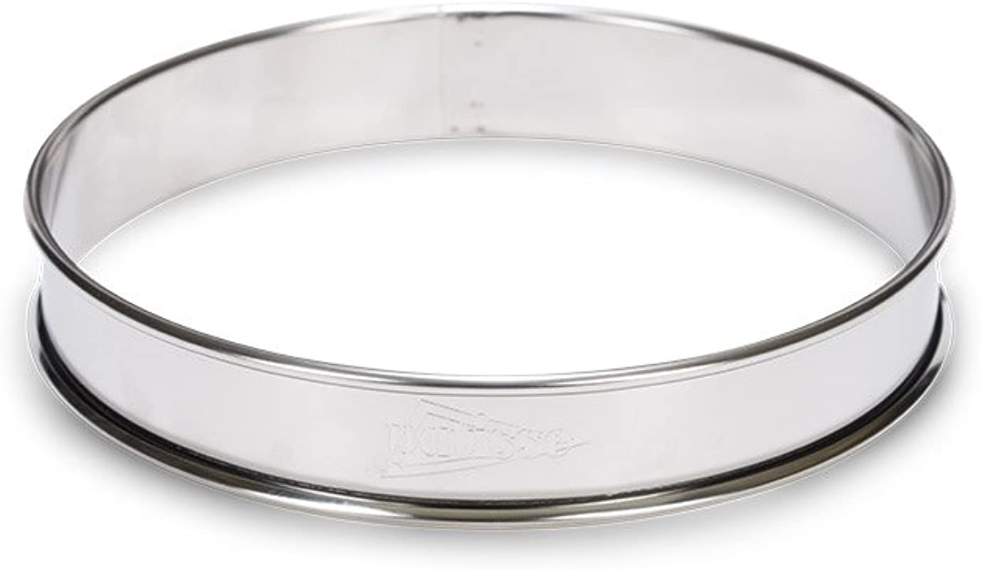 Patisse 02144 Double Rolled Round Tart Ring 5 1 2 Inch