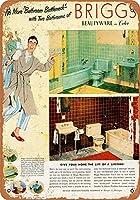 1951ブリッグの浴室備品グッズ壁アート