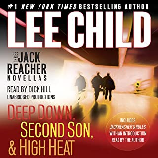 Three Jack Reacher Novellas (with Bonus Jack Reacher's Rules) cover art
