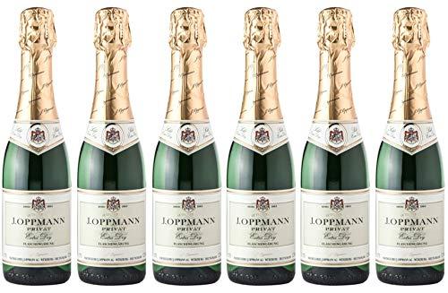 J.Oppmann Privat extra dry, Deutscher Sekt, Flaschengärung Extra trocken (6 x 0.375 l)