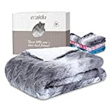 Cozidu Luxurious Plush Reversible Baby Blanket for Boys and...