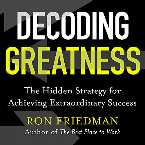 Decoding Greatness cover art