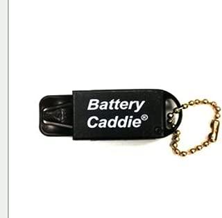 Hearing Aid Battery Caddie Keychain (Black)