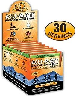 Acli-Mate Mountain Sport Drink, Orange, 11.1-Ounce