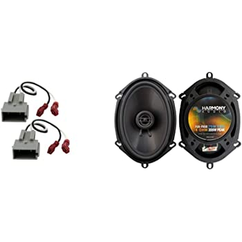 Amazon Com Compatible With Ford Econoline Full Size Van 97 13 Rear Door Factory Replacement Harmony Ha R68 Speakers Car Electronics