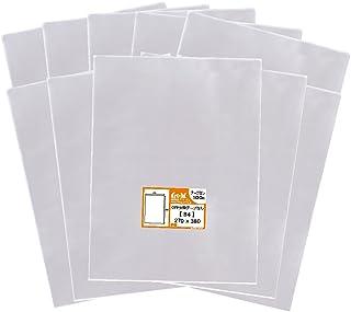 【国産】テープなし B4【 B4用紙・ポスター用 / 角1封筒 】透明OPP袋(透明封筒)【1000枚】30ミクロン厚(標準)270x380mm