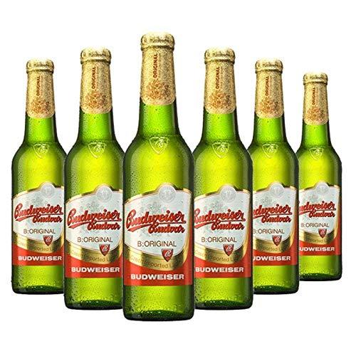 BUDVAR Budweiser 6 x 33 CL