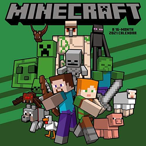 Calendario 2021 30x30 Minecraft (2021 Calendar)