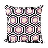 Kissen Fall, neartime Geometrische Form Schlafsofa Home Decor Kissenbezug, Baumwollstoff, violett, 45cm*45cm/18*18'
